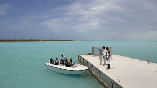 A scene from the Turks and Caicos Islands - Sputnik International