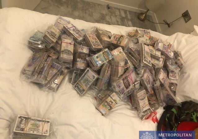 Money recovered by Operation Venetic