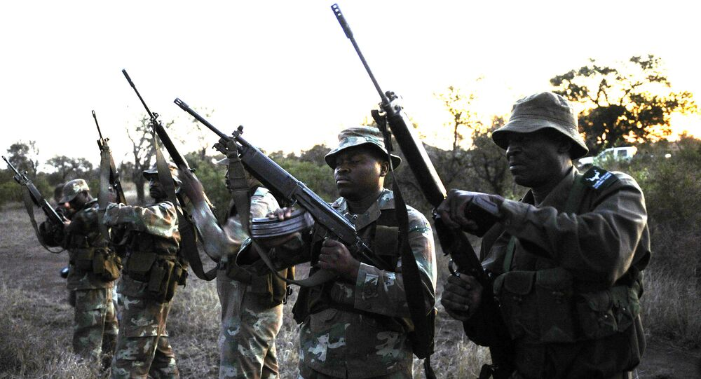 Soldiers from South African National Defence Force (SANDF). File photo
