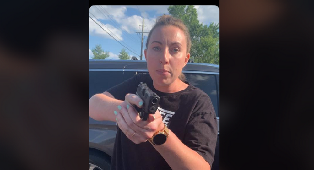 Racial incident involving a gun in a Chipotle parking lot goes viral