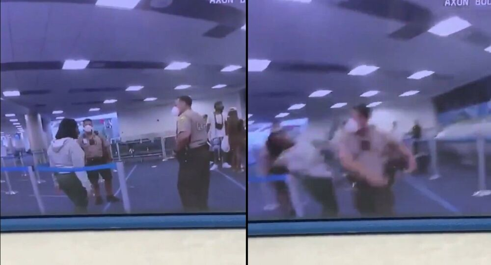 Footage emerges of woman being punched by officer at Miami International Airport