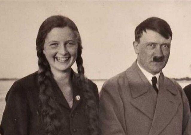 Angela Maria Geli Raubal and  Adolf Hitler