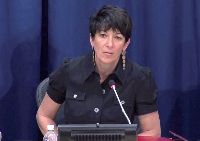 Ghislaine Maxwell, longtime associate of accused sex trafficker Jeffrey Epstein, speaks at a news conference on oceans and sustainable development at the United Nations in New York, U.S. June 25, 2013 in this screengrab taken from United Nations TV file footage