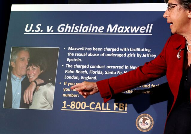 Audrey Strauss, Acting United States Attorney for the Southern District of New York speaks at a news conference announcing charges against Ghislaine Maxwell for her role in the sexual exploitation and abuse of minor girls by Jeffrey Epstein in New York City, New York, U.S., July 2, 2020