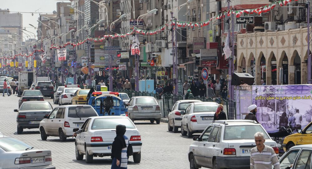 Ahvaz, the capital of Iran's southwestern province of Khuzestan