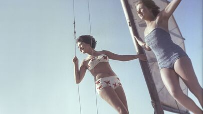 International Bikini Day Erasing Borders: Stunning Soviet Beauties Enjoying Summertime in Swimsuits