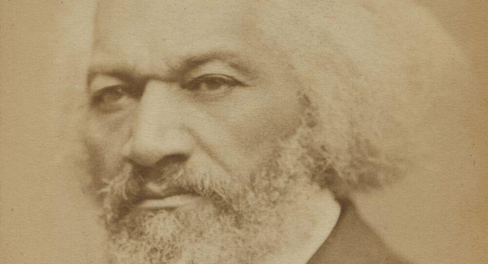 Frederick Douglass statue vandalized in Rochester park