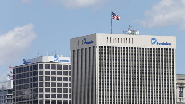 This April 28, 2015, file photo shows two Dominion Energy buildings in downtown Richmond, Va. The developers of the Atlantic Coast Pipeline announced Sunday, July 5, 2020, that they are canceling the multi-state natural gas project, citing delays and increasing cost uncertainty. - Sputnik International