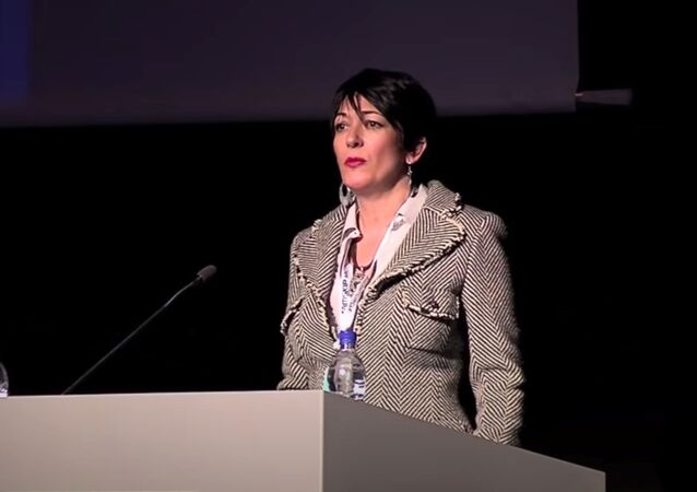 Ghislaine Maxwell speaks at the Arctic Circle Forum in Reykjavik, Iceland October 2013
