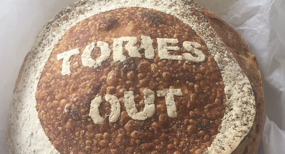 "A Yorkshire bakery which sold loaves of bread with ""F*ck Boris"" stencilled onto them during last year's election has been featured in the government's latest public information campaign."