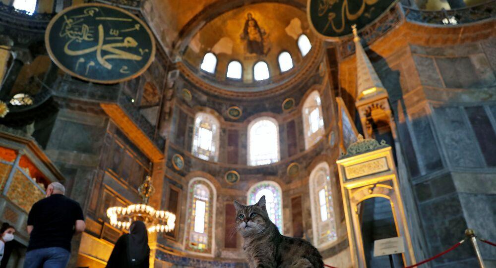 Hagia Sophia. File photo