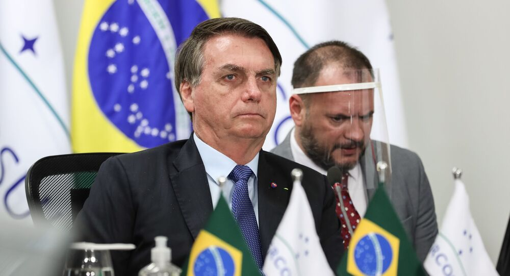 Brazil's Bolsonaro tested for COVID-19, feels well