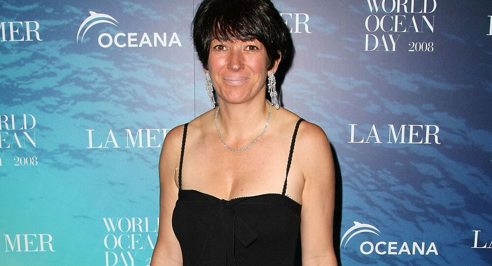 (FILES) In this file photo taken on June 04, 2008, Ghislaine Maxwell, attends the La Mer and Oceana celebration for World Ocean Day 2008 at 620 Loft & Garden in New York City. - Maxwell, the former girlfriend of late financier Jeffrey Epstein, was arrested in the United States on July 2, 2020, by FBI officers investigating his sex crimes, multiple US media outlets reported