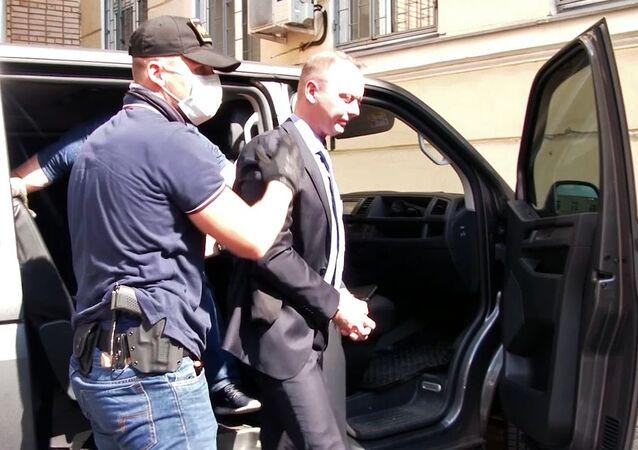 Safronov's detention