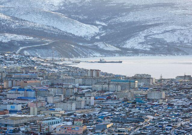 View of Magadan