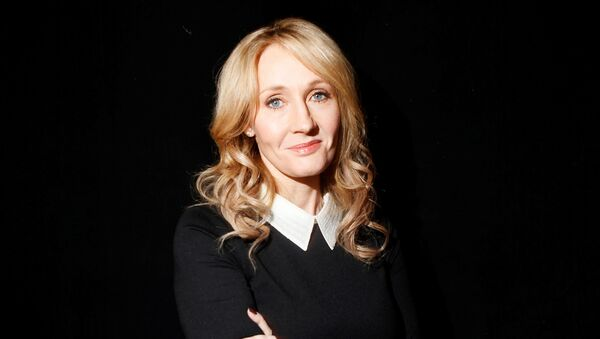 Author J.K. Rowling poses for a portrait while publicizing her adult fiction book The Casual Vacancy at Lincoln Center in New York October 16, 2012 - Sputnik International