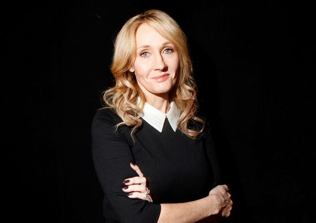 Author J.K. Rowling poses for a portrait while publicizing her adult fiction book The Casual Vacancy at Lincoln Center in New York October 16, 2012