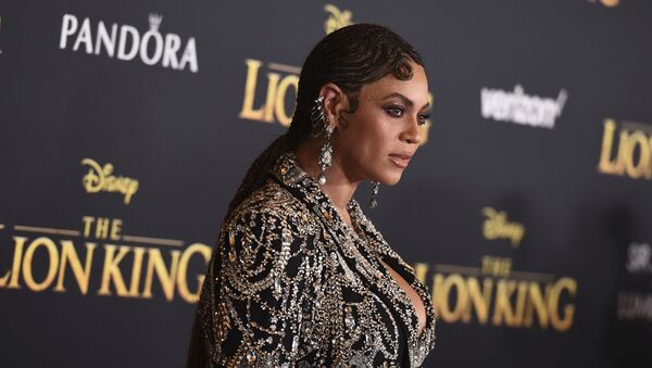 Beyonce arrives at the world premiere of The Lion King on Tuesday, 9 July 2019, at the Dolby Theatre in Los Angeles - Sputnik International