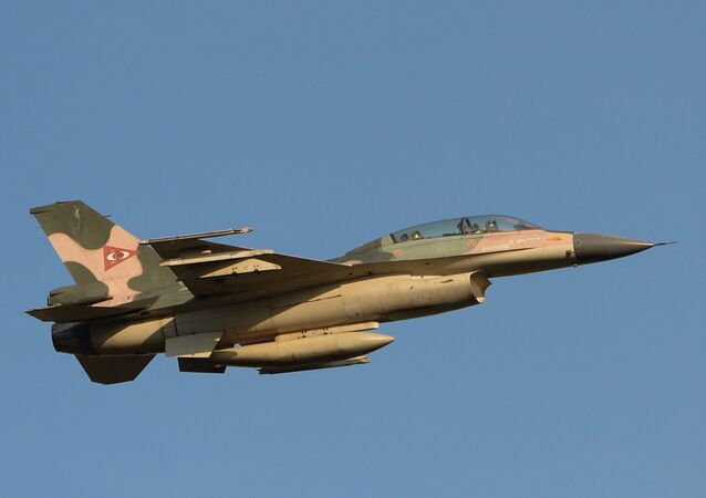F-16 aircraft of the Venezuelan Air Force