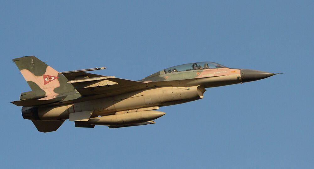 F-16 aircraft of the Venezuelan Air Force
