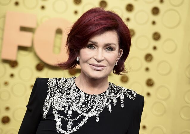 Sharon Osbourne arrives at the 71st Primetime Emmy Awards on Sunday, Sept. 22, 2019, at the Microsoft Theater in Los Angeles
