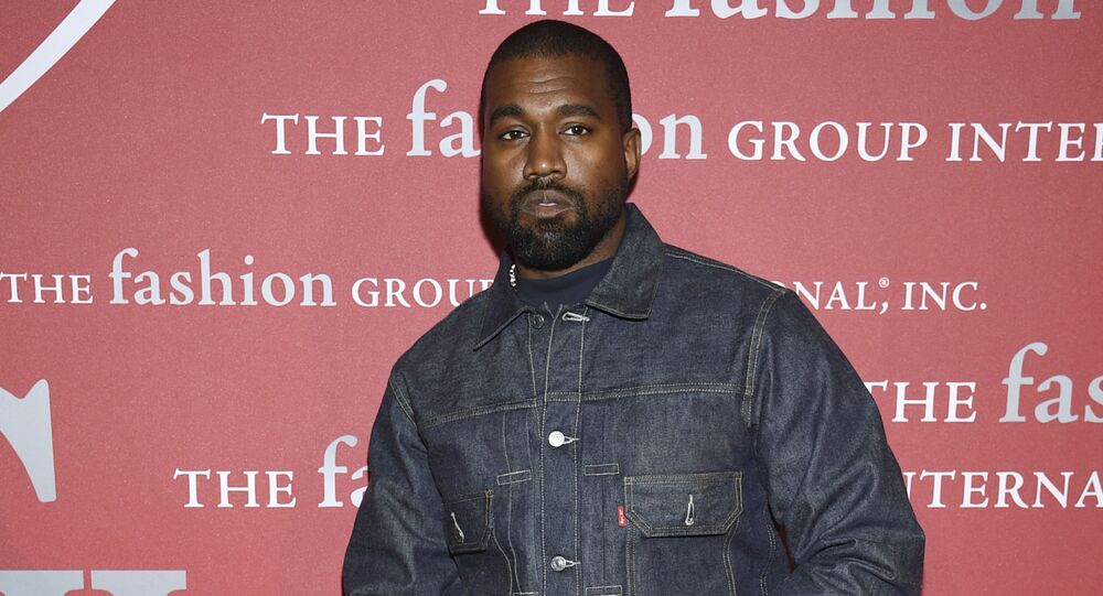 Recording artist Kanye West attends The Fashion Group International's annual Night of Stars gala at Cipriani Wall Street on 24 October 2019, in New York.