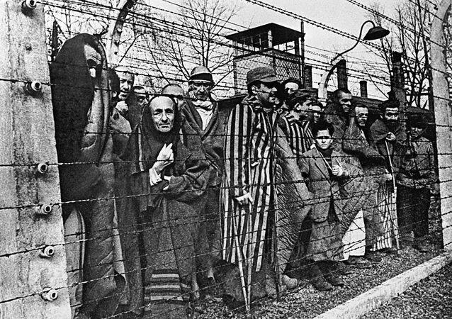 Auschwitz inmates photograph exhibition