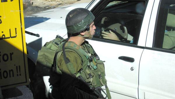 The Israeli-Palestinian frontier - Sputnik International