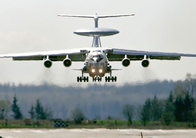 Russia's A-50 early-warning and guiding aircraft