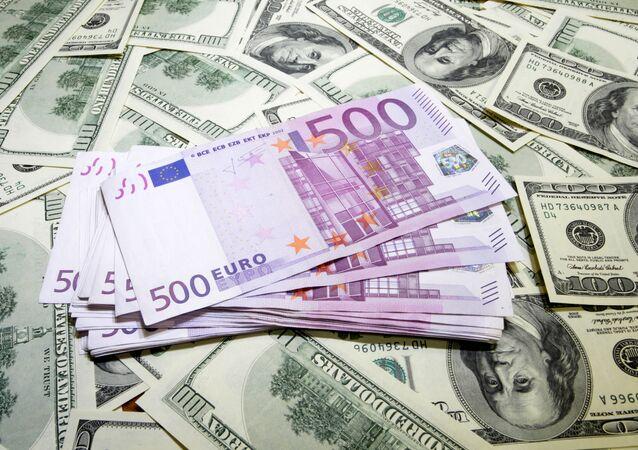 Dollar up 3.5 kopeks, euro down 33.48 kopeks - Central Bank