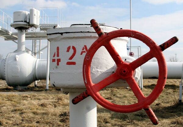 Poland stopped reversed deliveries of about 4 million cubic meters of gas to Ukraine. - Sputnik International