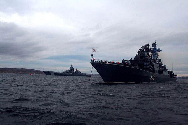 Russian destroyer joins anti-piracy mission off Somalia  - Sputnik International