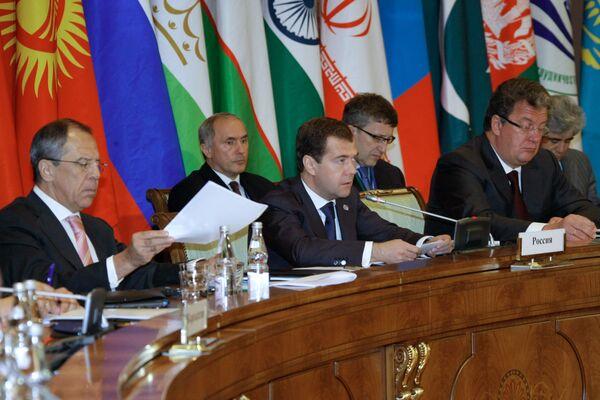 Council of Heads of SCO member states - Sputnik International