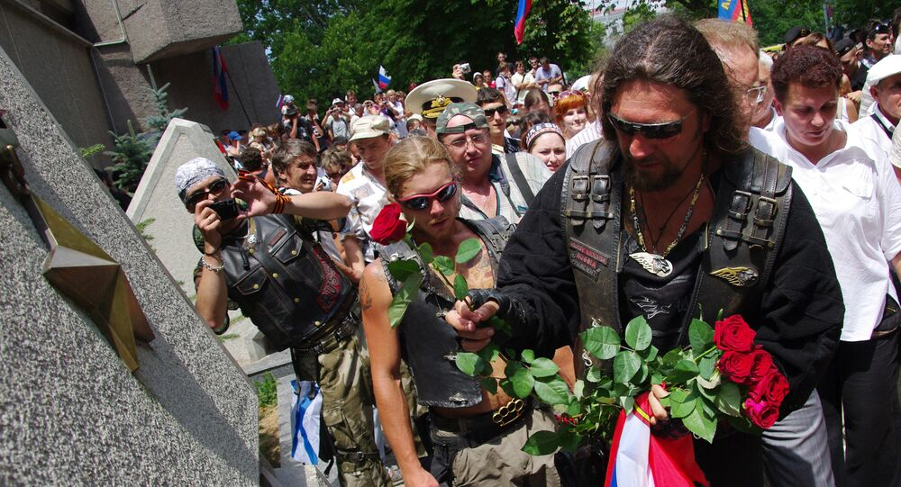 Surveys have found the people of Poland divided over whether or not to allow a Russian motorcycle club through Poland on their way to Berlin for Victory Day celebrations.