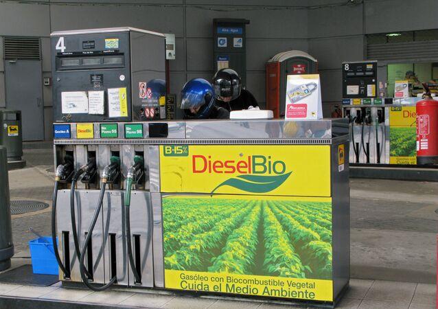 Selling biofuel