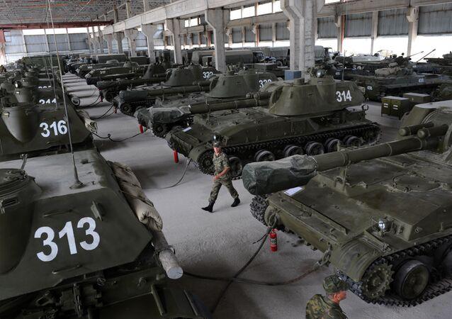 Russian military base in Tskhinvali