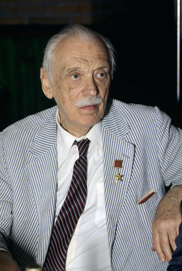 Writer Sergei Mikhalkov - Sputnik International