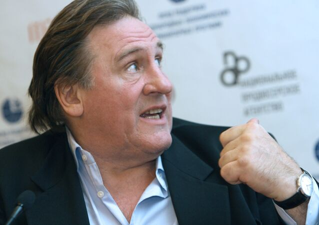 Famous actor and wine-grower Gerard Depardieu