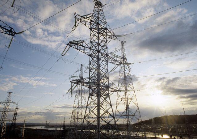 Высоковольтная линия электропередач