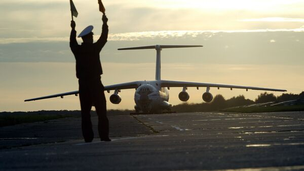 The first Ulyanovsk-built Il-76MD-90A, a heavily modernized variant of the Il-76, has been delivered to its customer, the Taganrog-based Beriev Aircraft Company. - Sputnik International