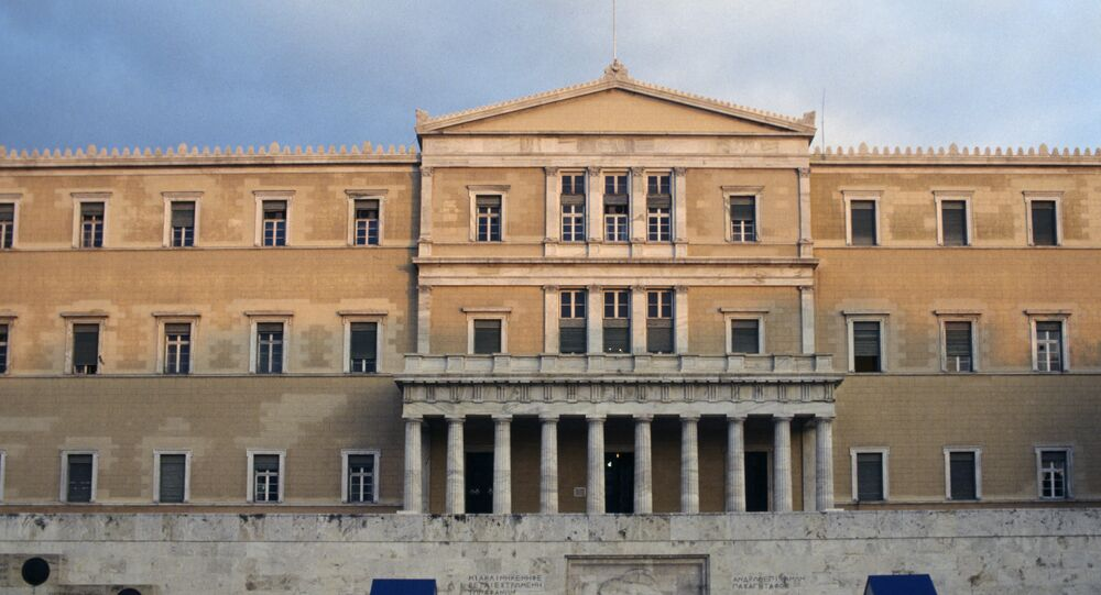 Greek opposition leads election