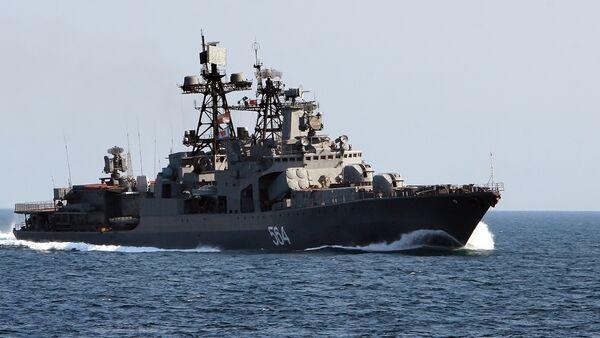The Admiral Tributs destroyer - Sputnik International