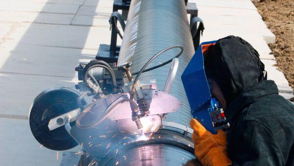 gas pipeline - Sputnik International