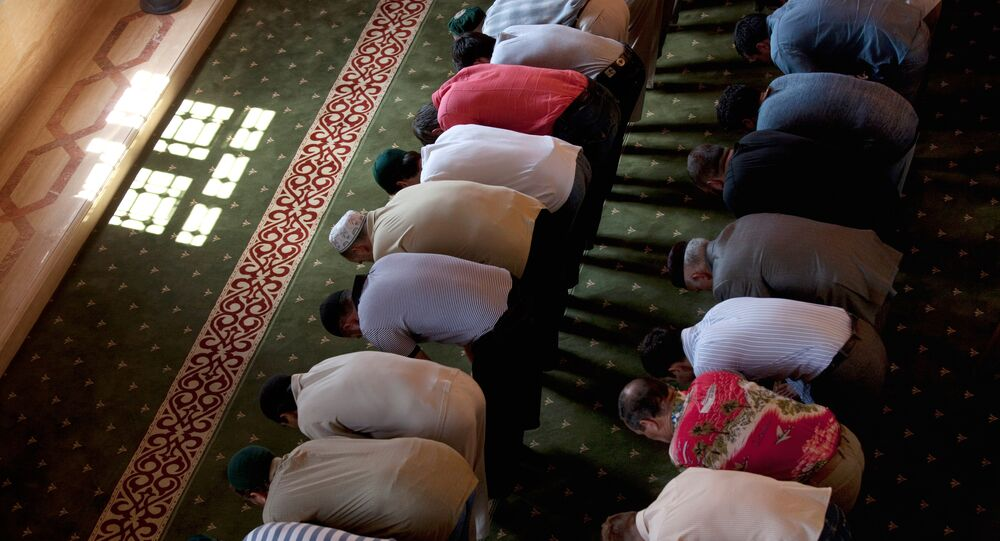 Muslims in Mosque