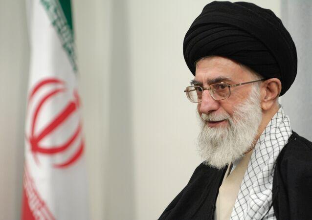 Spiritual leader of Iran Ayatollah Sayed Ali Khamenei