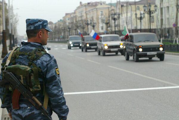 Police in Chechnya - Sputnik International