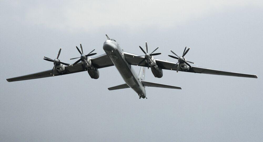 Tu-95 Bear strategic bomber