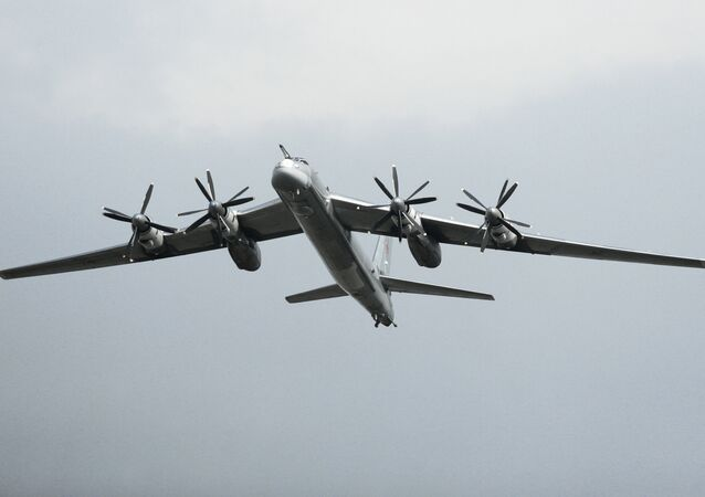 Tu-95 Bear strategic bomber