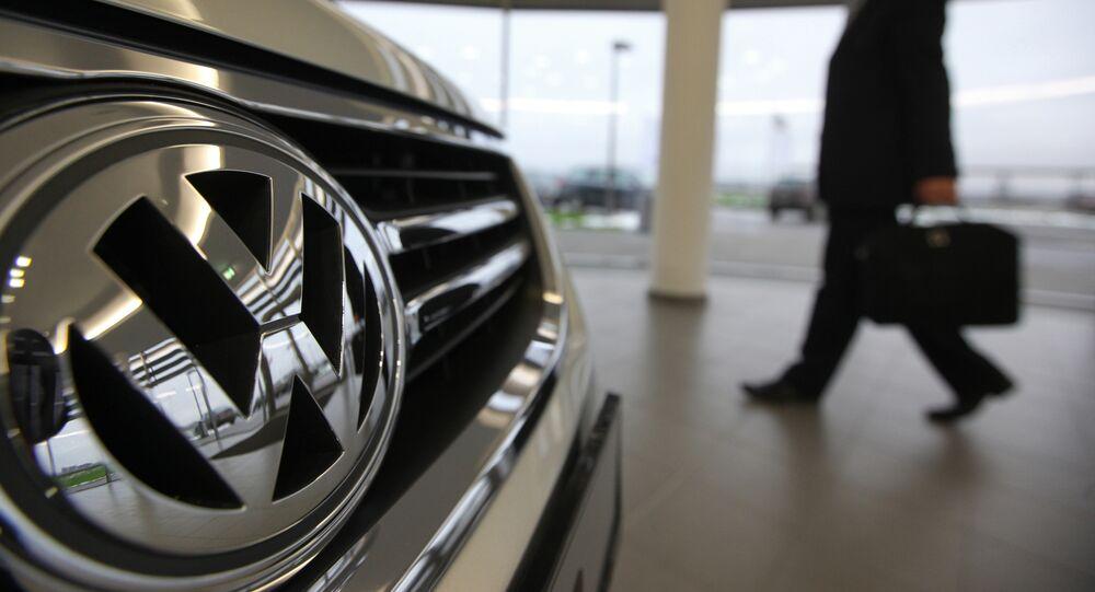 Volkswagen car maker plant in Kaluga