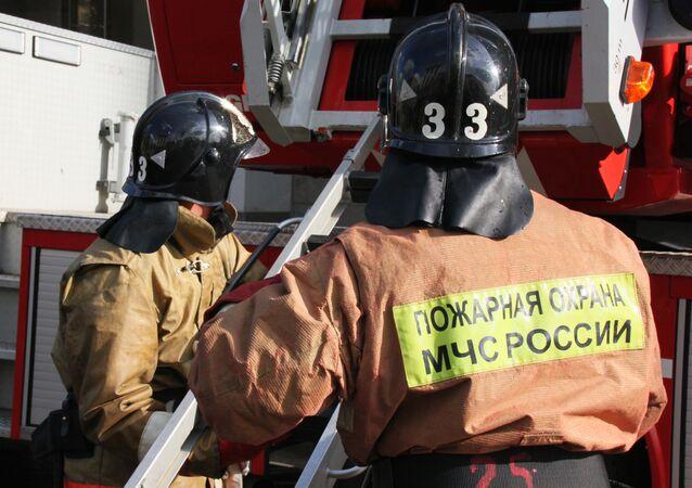 Twenty-three people died when a psychiatric hospital caught fire in Russia's Voronezh Region.